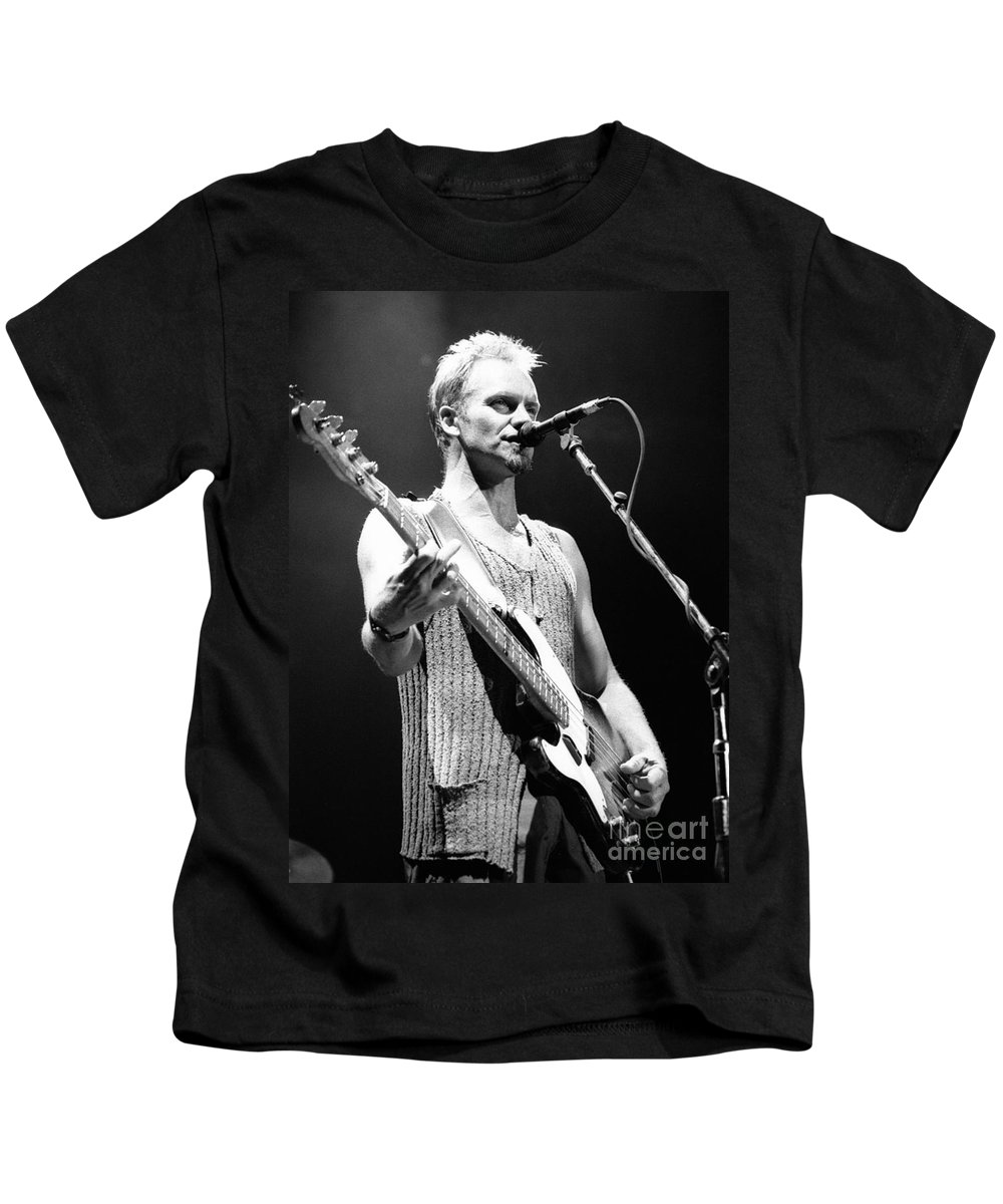 Sting Kids T-Shirt featuring the photograph Sting-gp29 by Timothy Bischoff