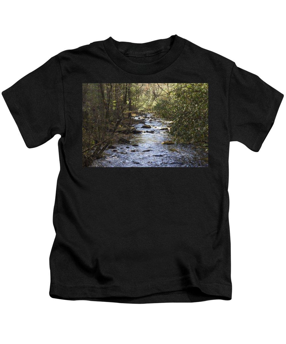 Magnolia Kids T-Shirt featuring the photograph Sugar Magnolia by Michael J Samuels