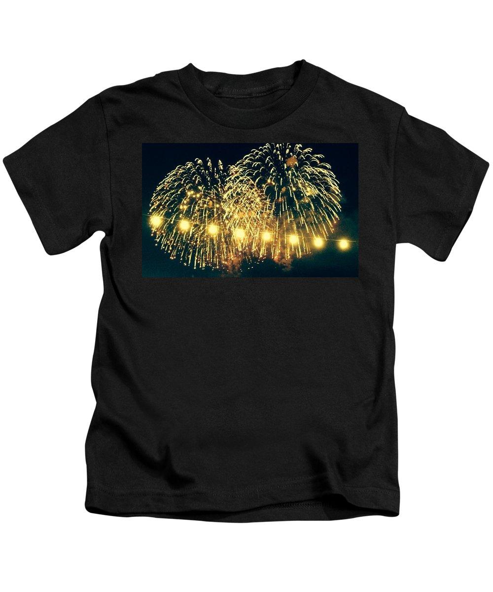 Summerfest Kids T-Shirt featuring the photograph Summerfest by Tiffany Erdman