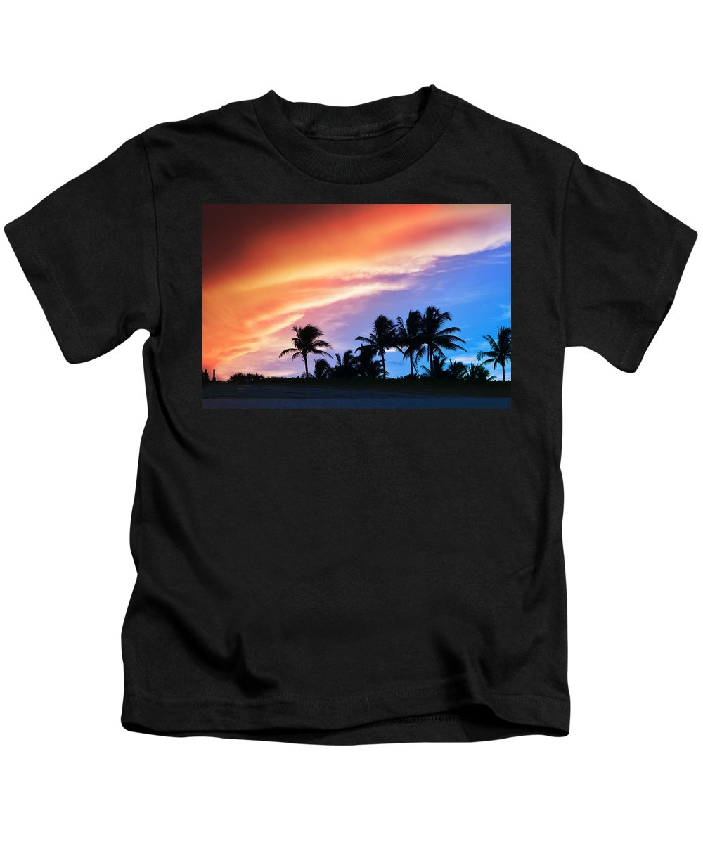Laura Fasulo Kids T-Shirt featuring the photograph Sunburst by Laura Fasulo