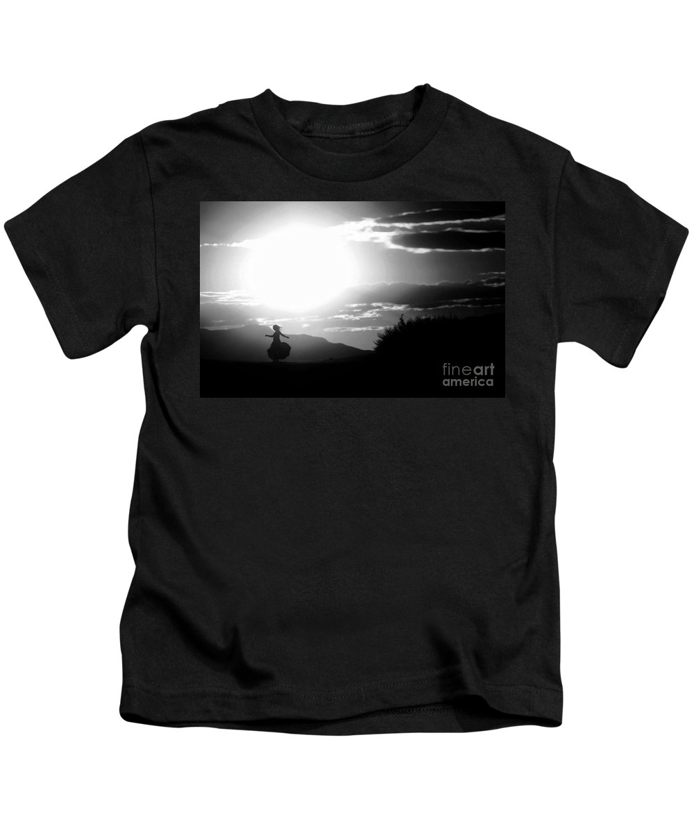 Black Kids T-Shirt featuring the photograph Sway Of The Sun by Jessica Shelton