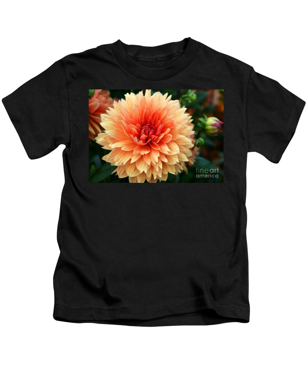 Dahlia Kids T-Shirt featuring the photograph Sweet Dahlia by Christiane Schulze Art And Photography