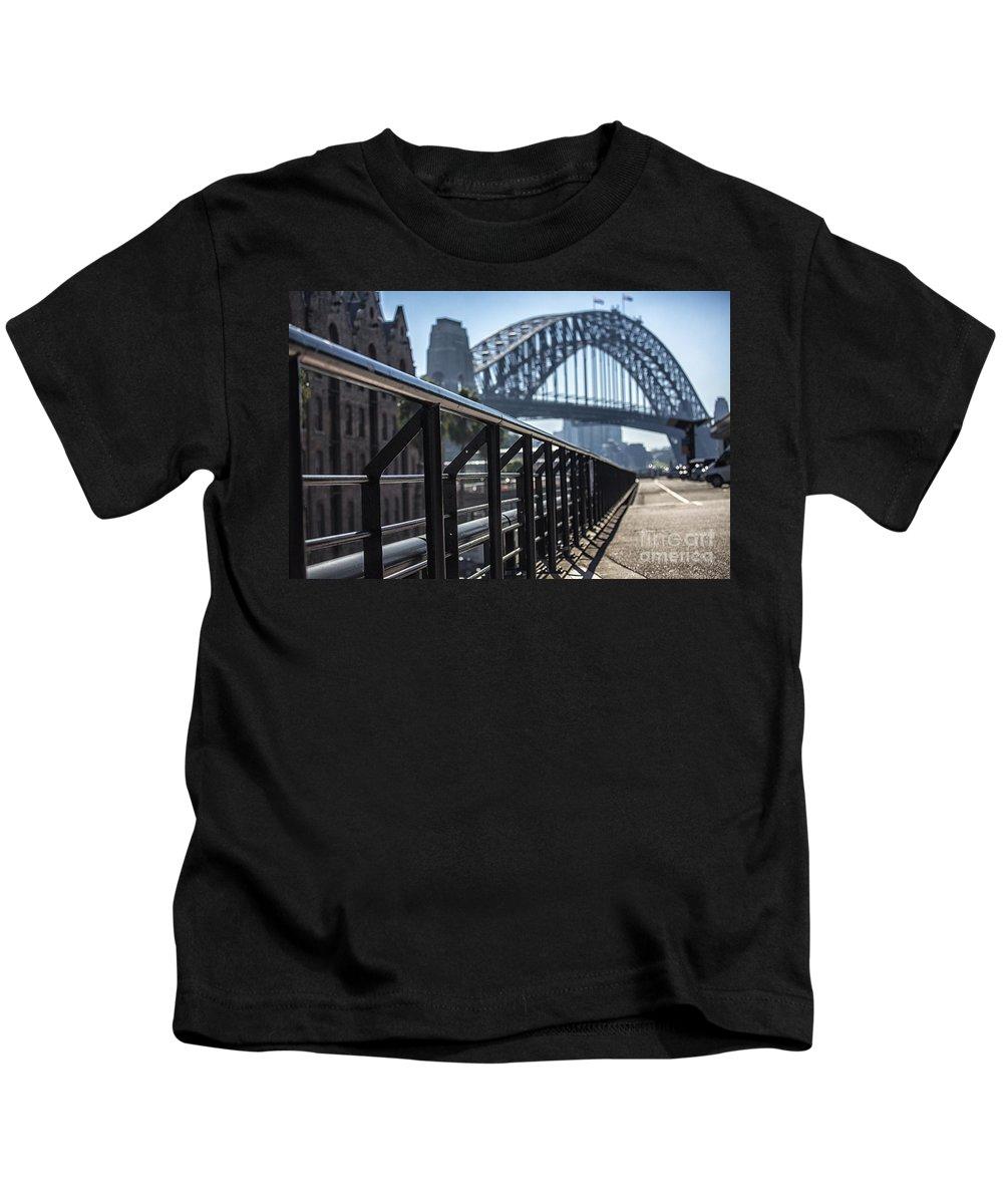 Sydney Harbour Bridge Kids T-Shirt featuring the photograph Sydney Harbour Bridge by Sheila Smart Fine Art Photography