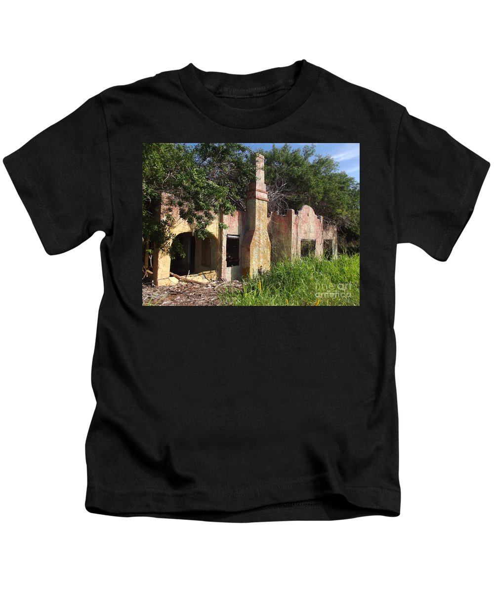 Land Kids T-Shirt featuring the photograph Taking The Land Back by Jennifer Lavigne