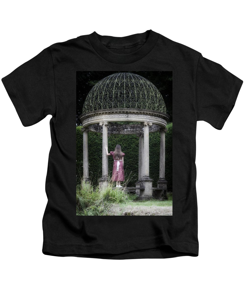 Girl Kids T-Shirt featuring the photograph Temple by Joana Kruse