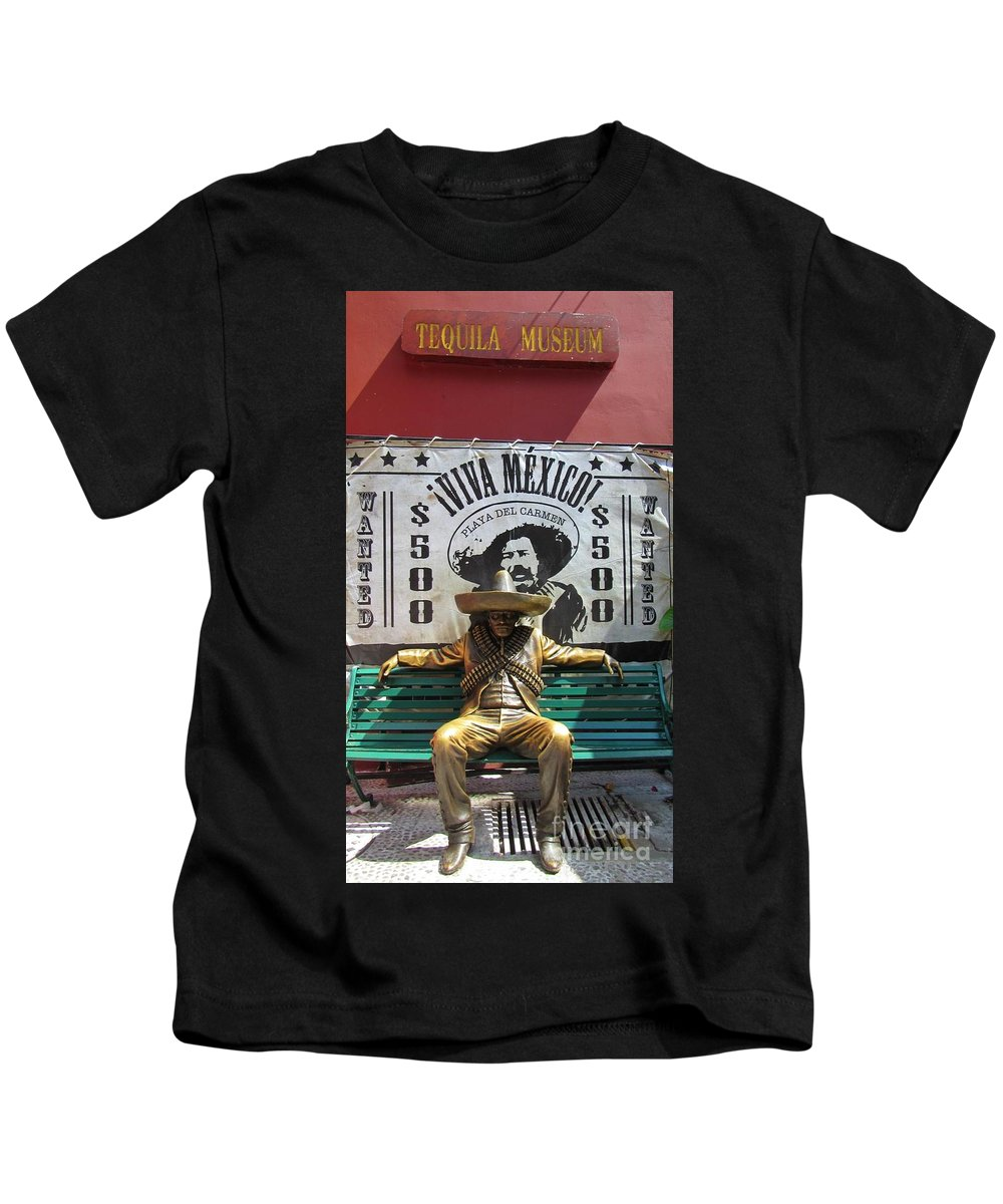 Tequila Museum Kids T-Shirt featuring the photograph Tequila Museum by John Malone