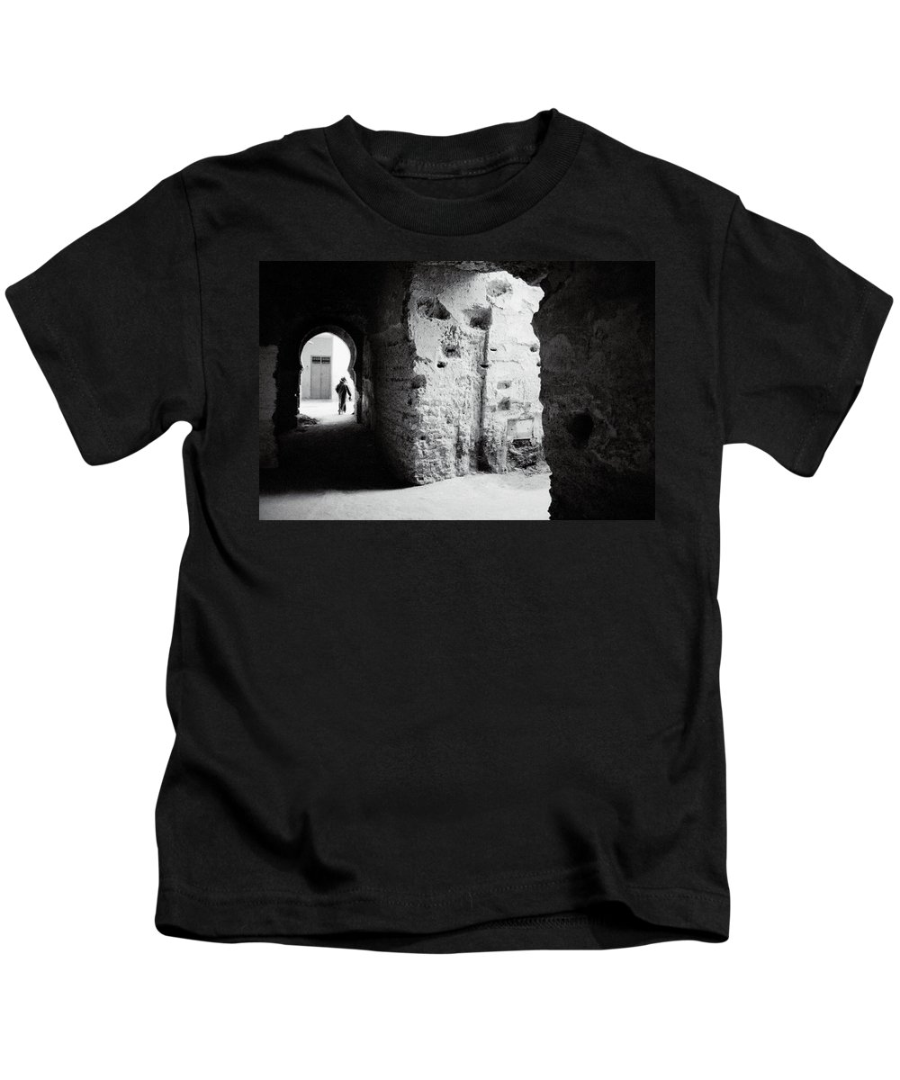 Africa Kids T-Shirt featuring the photograph Mysterious Labyrinth by Shaun Higson