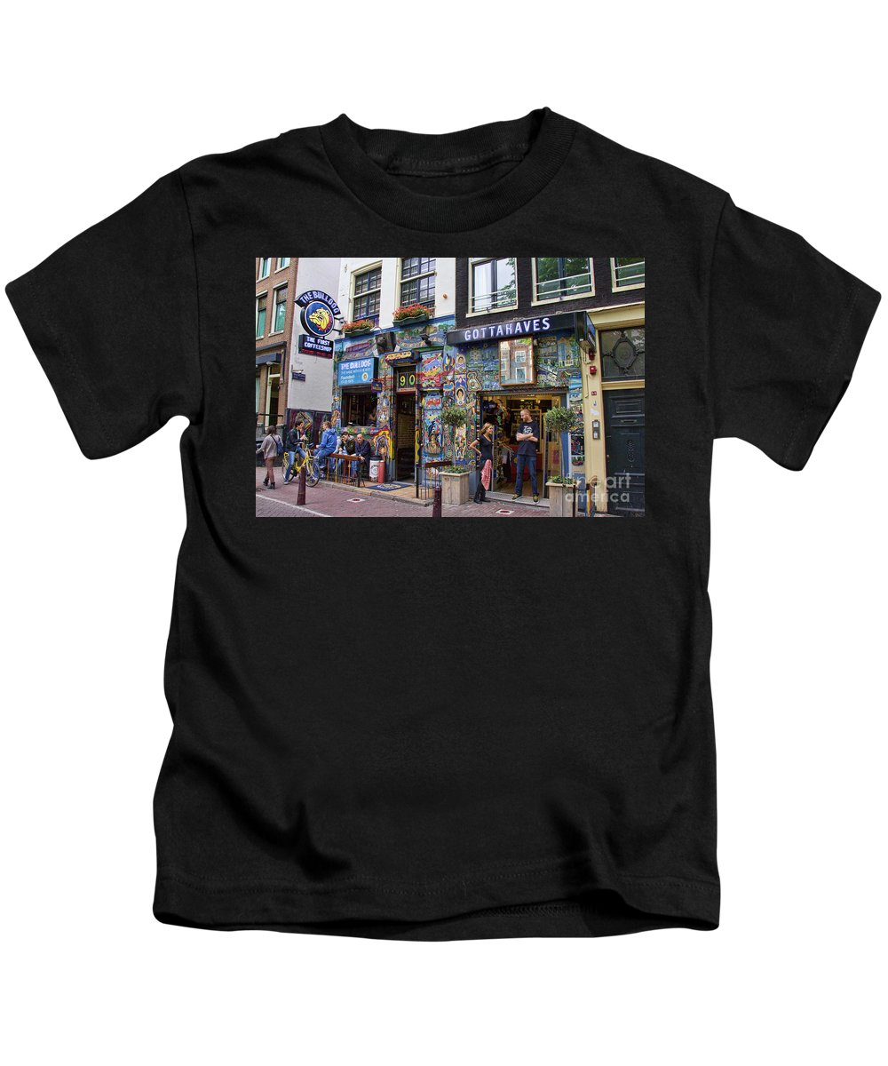 The Bulldog Coffee Shop Amsterdam Kids T Shirt
