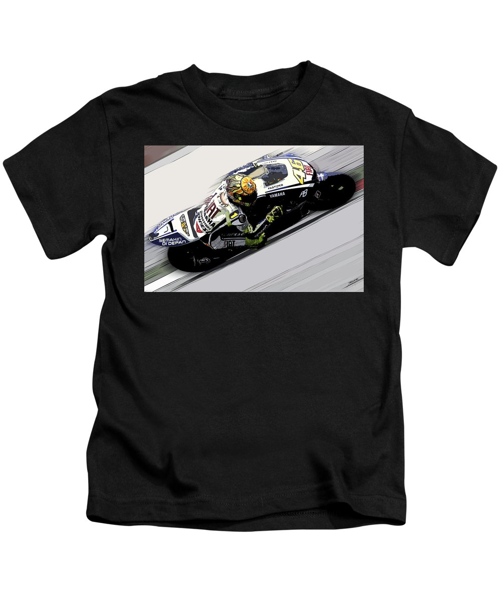 Porsche Kids T-Shirt featuring the painting the Doctor by Tano V-Dodici ArtAutomobile