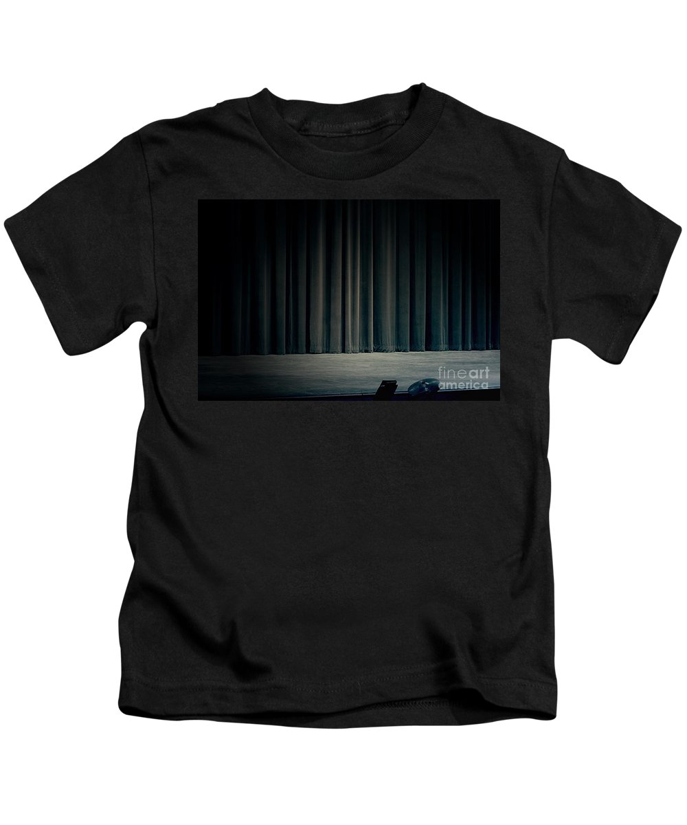 Stage Kids T-Shirt featuring the photograph The Final Act by Trish Mistric