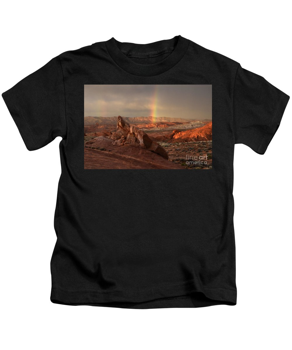 Sandstone Kids T-Shirt featuring the photograph The Glory Of Sandstone by Bob Christopher
