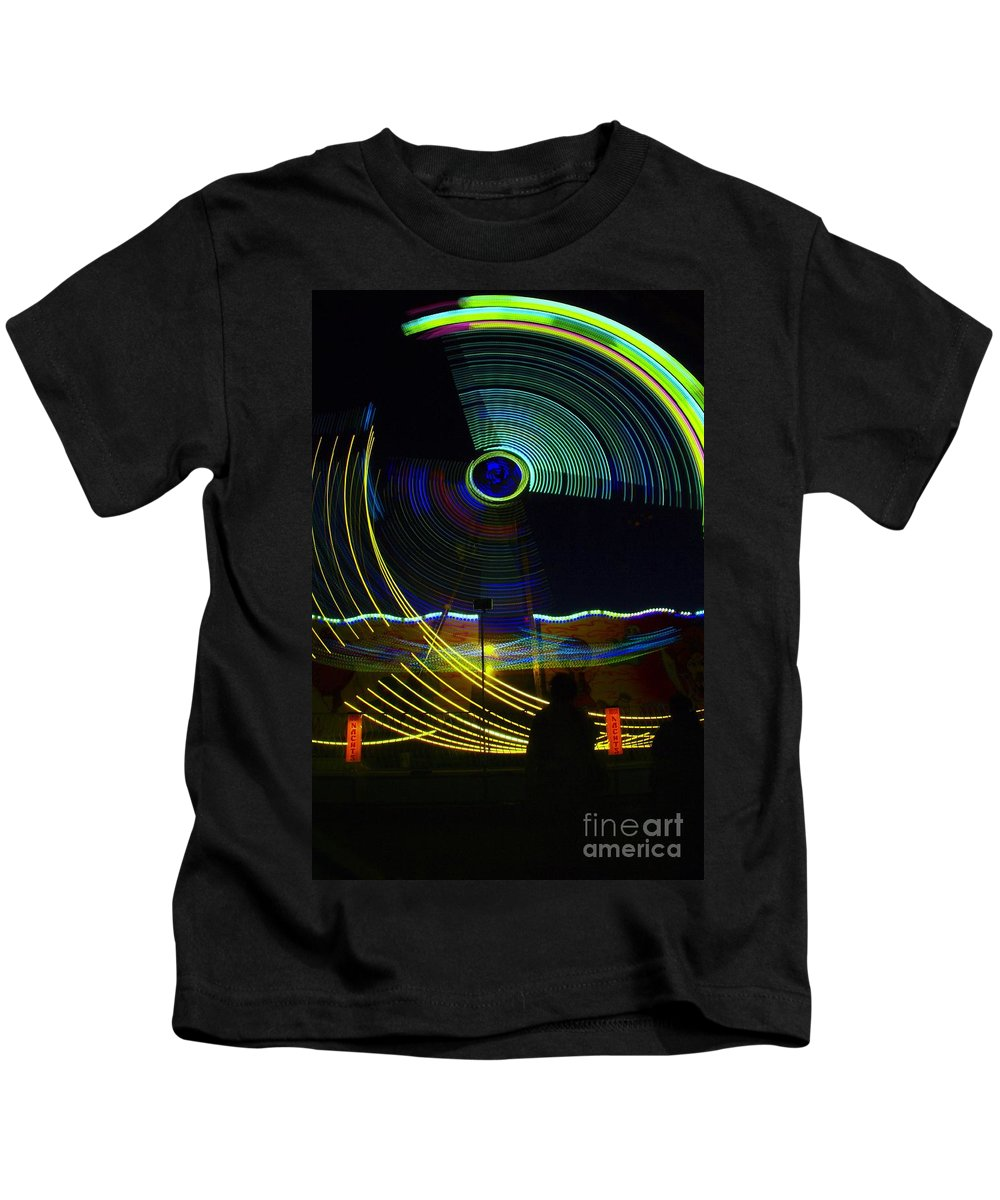 Light Kids T-Shirt featuring the photograph The Manohorn by Jeff Swan
