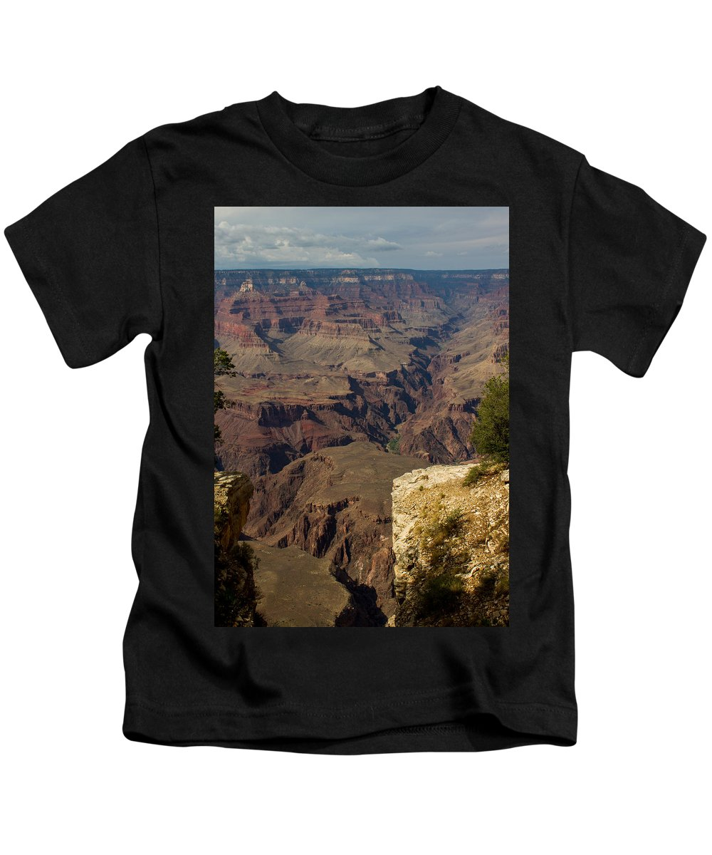 Grand Canyon Kids T-Shirt featuring the photograph The Nooks And Cranies Of The Grand Canyon by Kathleen Odenthal