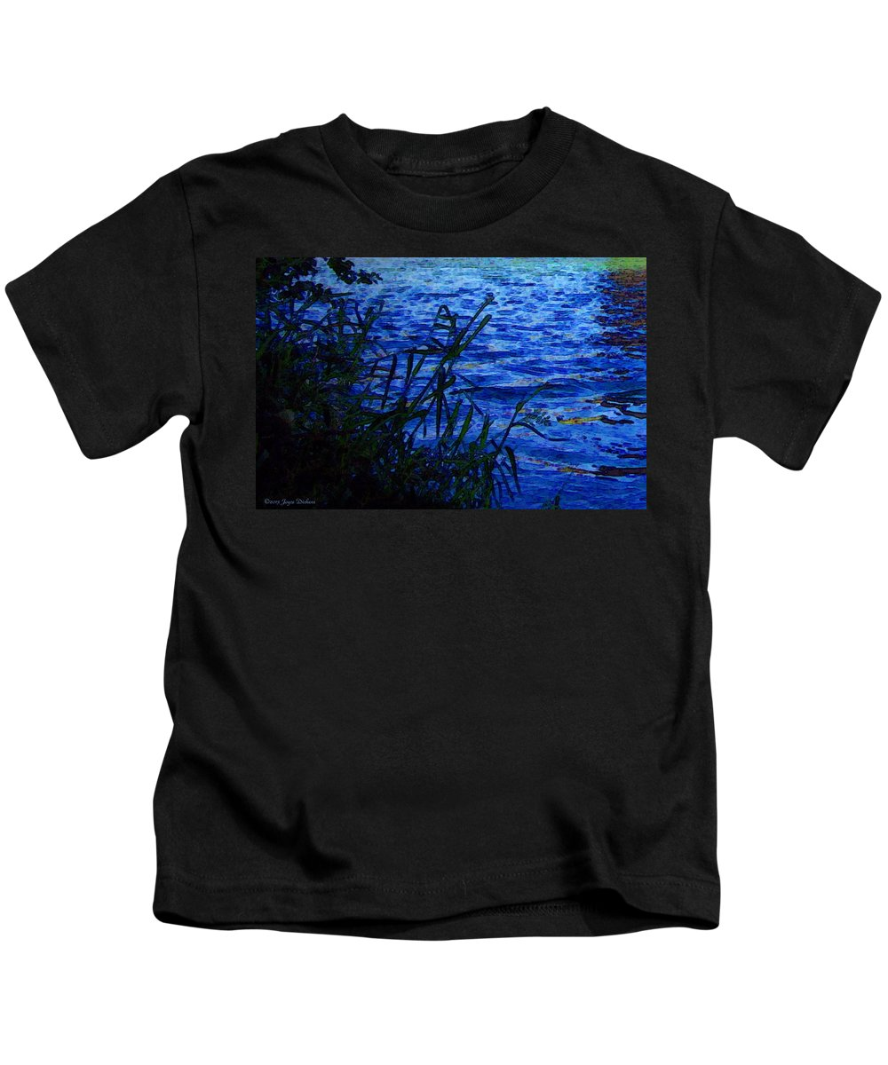 River Kids T-Shirt featuring the photograph The River by Joyce Dickens