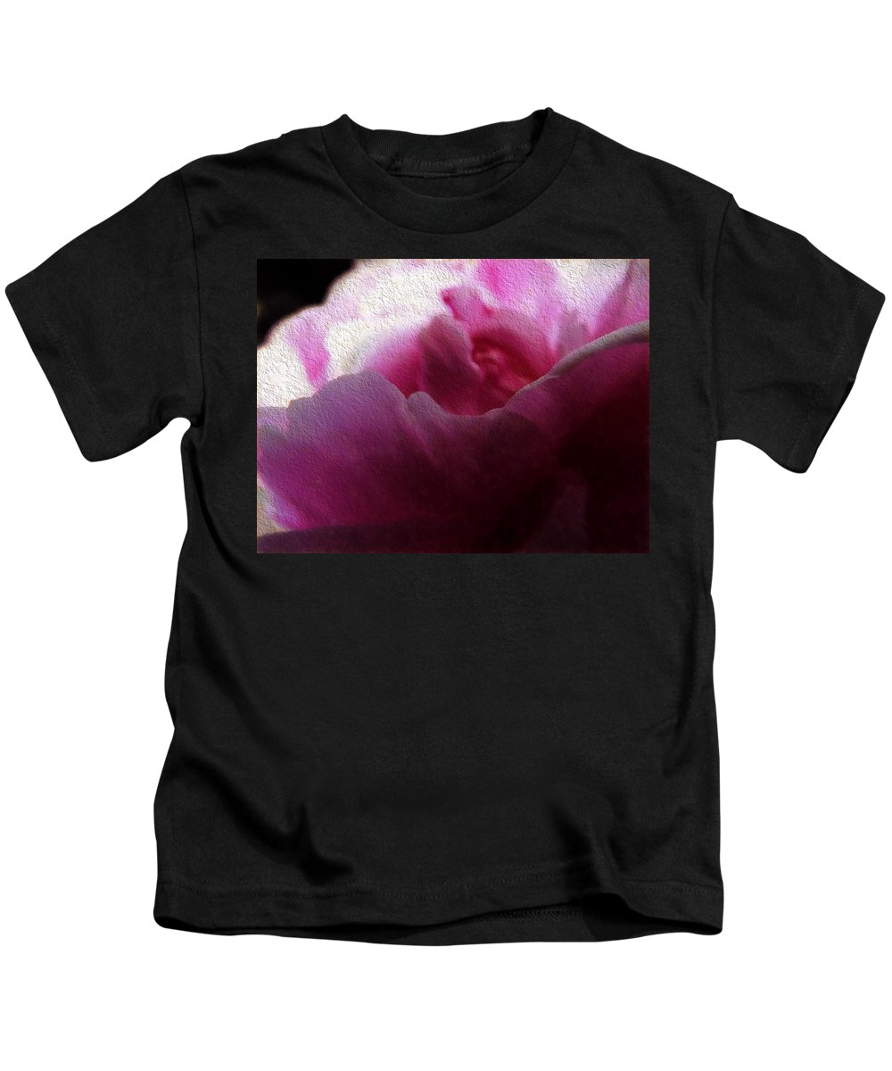 Rose Kids T-Shirt featuring the photograph The Rose by Cathy Anderson