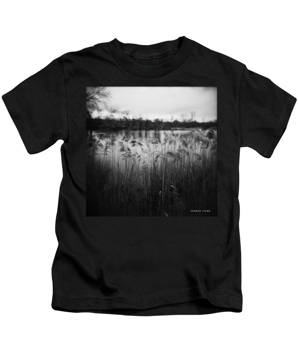 Holga Kids T-Shirt featuring the photograph The Softness Of Nature by Verana Stark