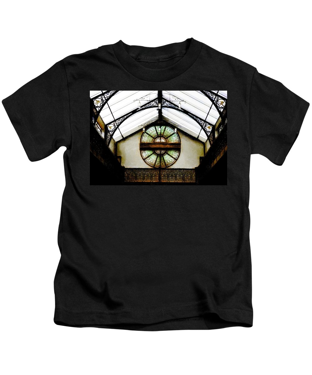 Christchurch Kids T-Shirt featuring the photograph The Tannery by Steve Taylor
