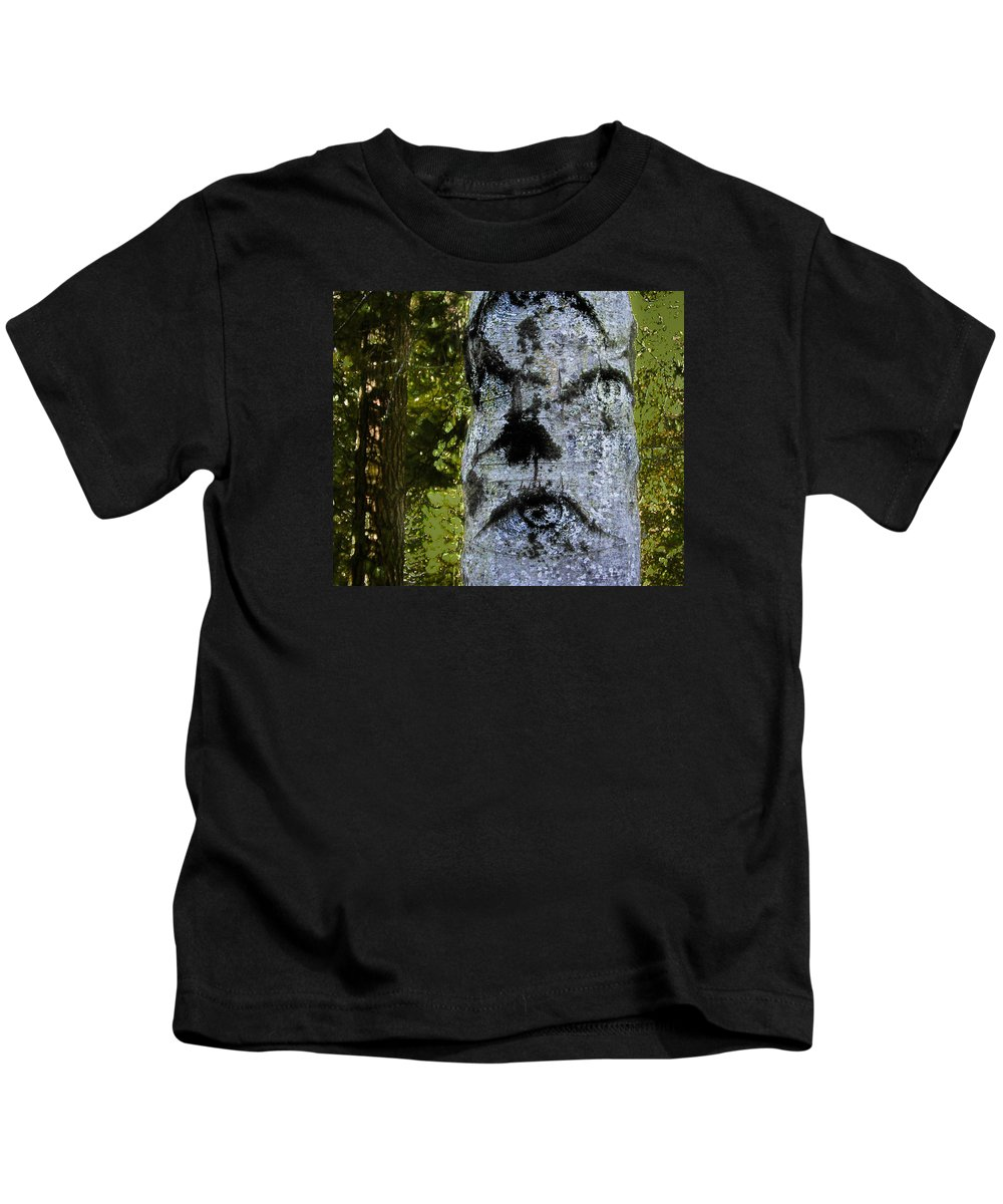 Trees Kids T-Shirt featuring the photograph The Trees Are Watching by Susan Eileen Evans