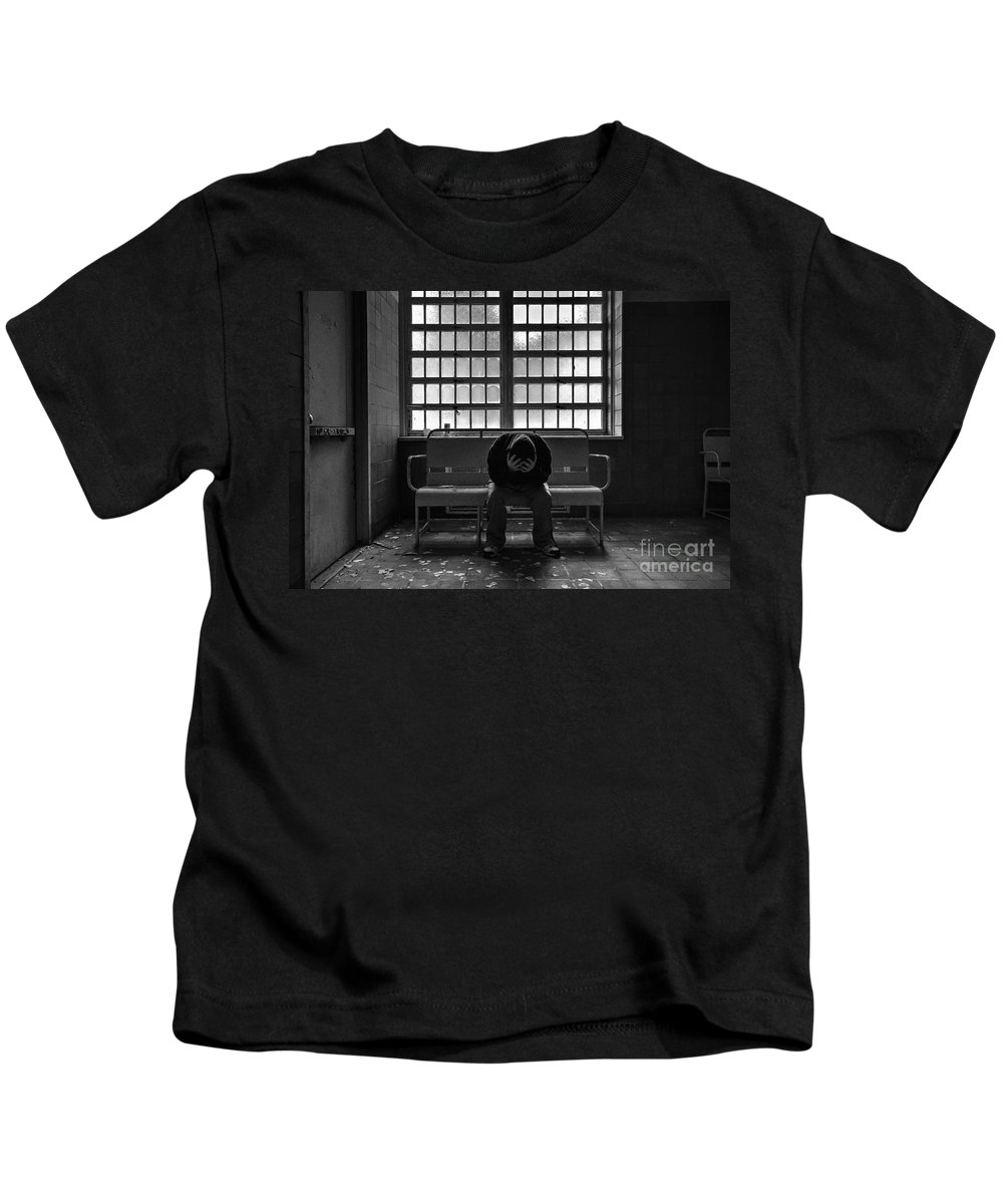Unforgiven Kids T-Shirt featuring the photograph The Unforgiven by Rick Kuperberg Sr