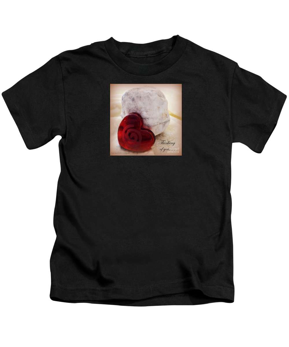 Acrylic Prints Kids T-Shirt featuring the photograph Thinking Of You Greeting by Bobbee Rickard