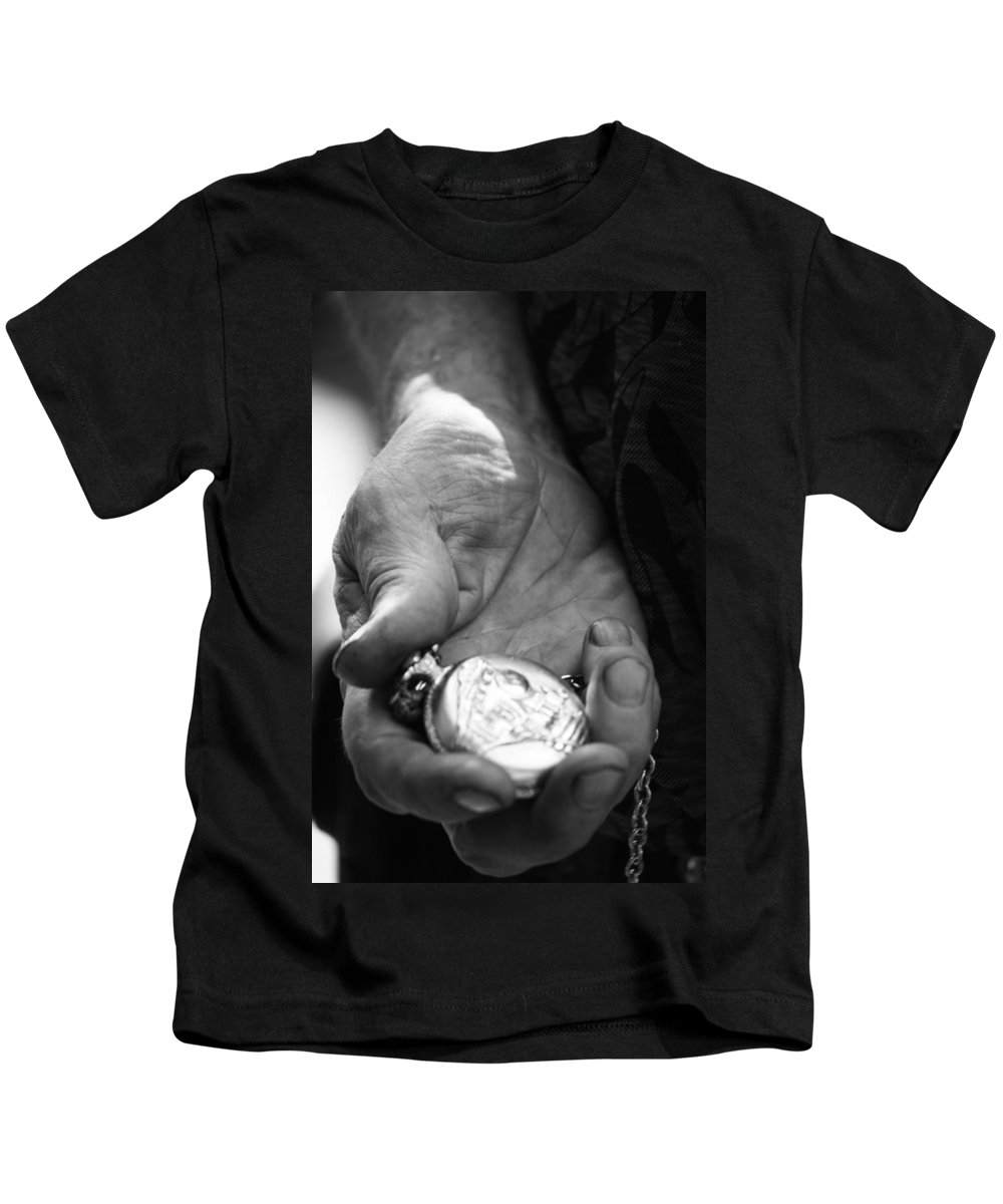 Street Kids T-Shirt featuring the photograph Time Is On My Side by The Artist Project