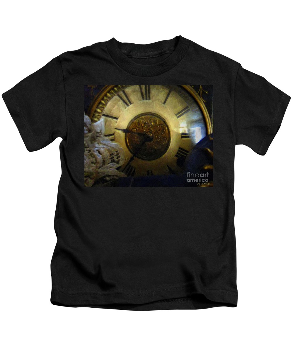 Antique Kids T-Shirt featuring the painting Time Suspended 9-36 by RC DeWinter