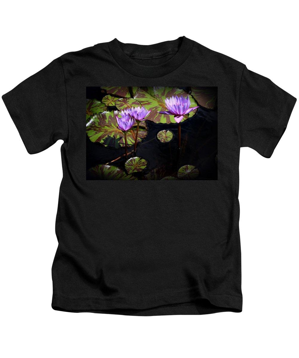 Flower Kids T-Shirt featuring the photograph Together And Alone by John Cardamone