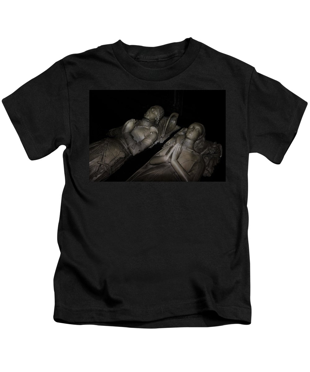 Knights Kids T-Shirt featuring the photograph Together For Eternity by Daniel Hagerman