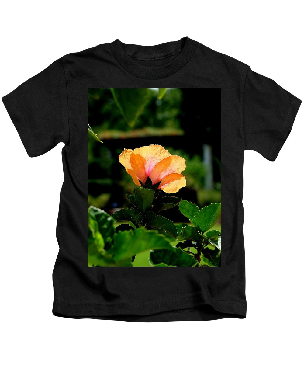 Fine Art Kids T-Shirt featuring the photograph Translucent by Rodney Lee Williams
