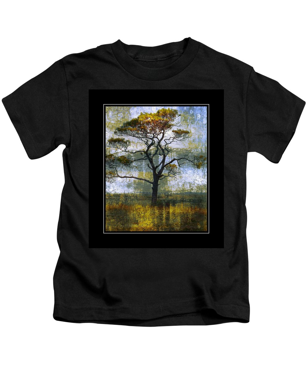 Tree Kids T-Shirt featuring the photograph Tree Of Colours by Alice Gipson