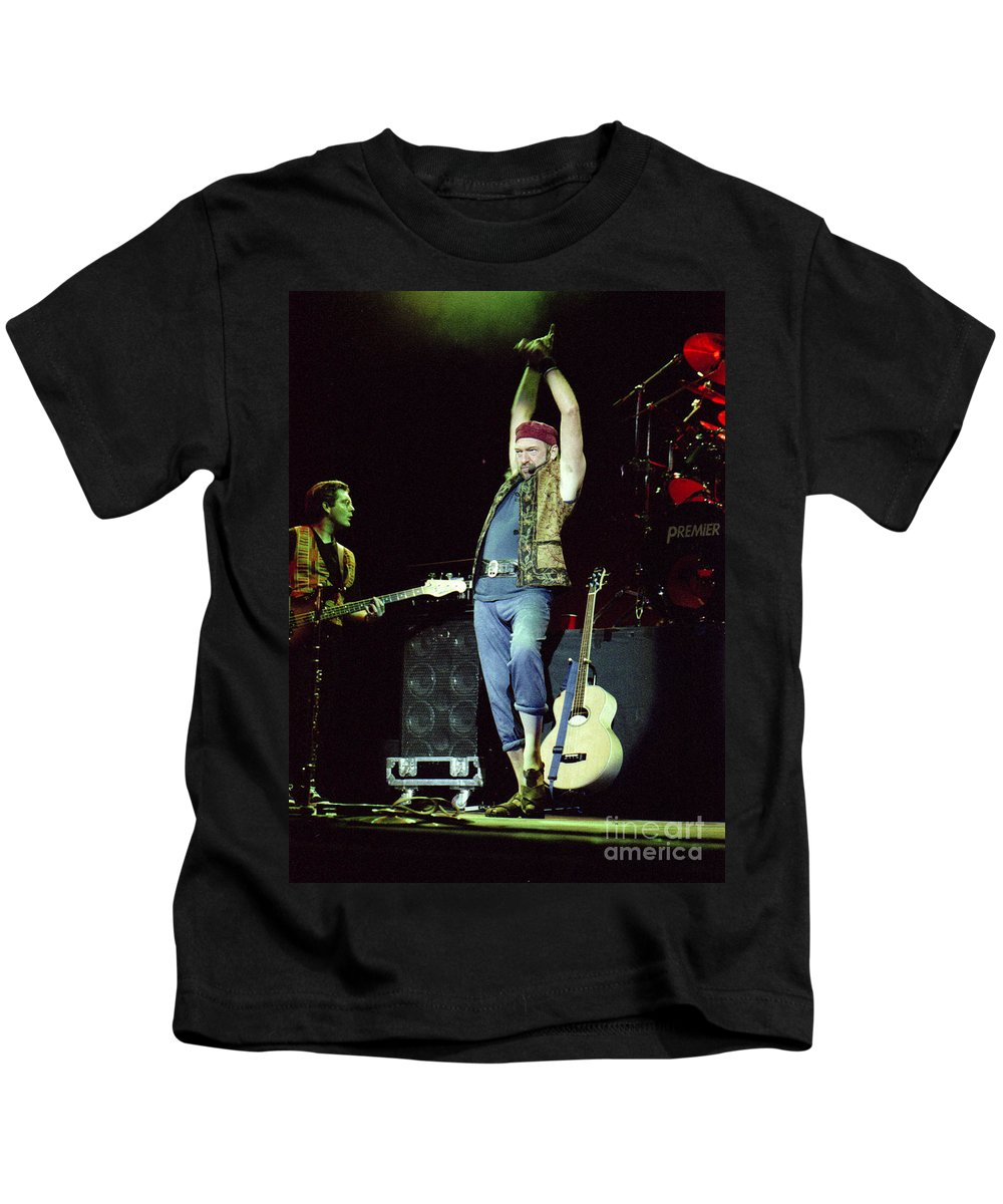 Jethro Tull Kids T-Shirt featuring the photograph Tull-ian-gp28 by Timothy Bischoff