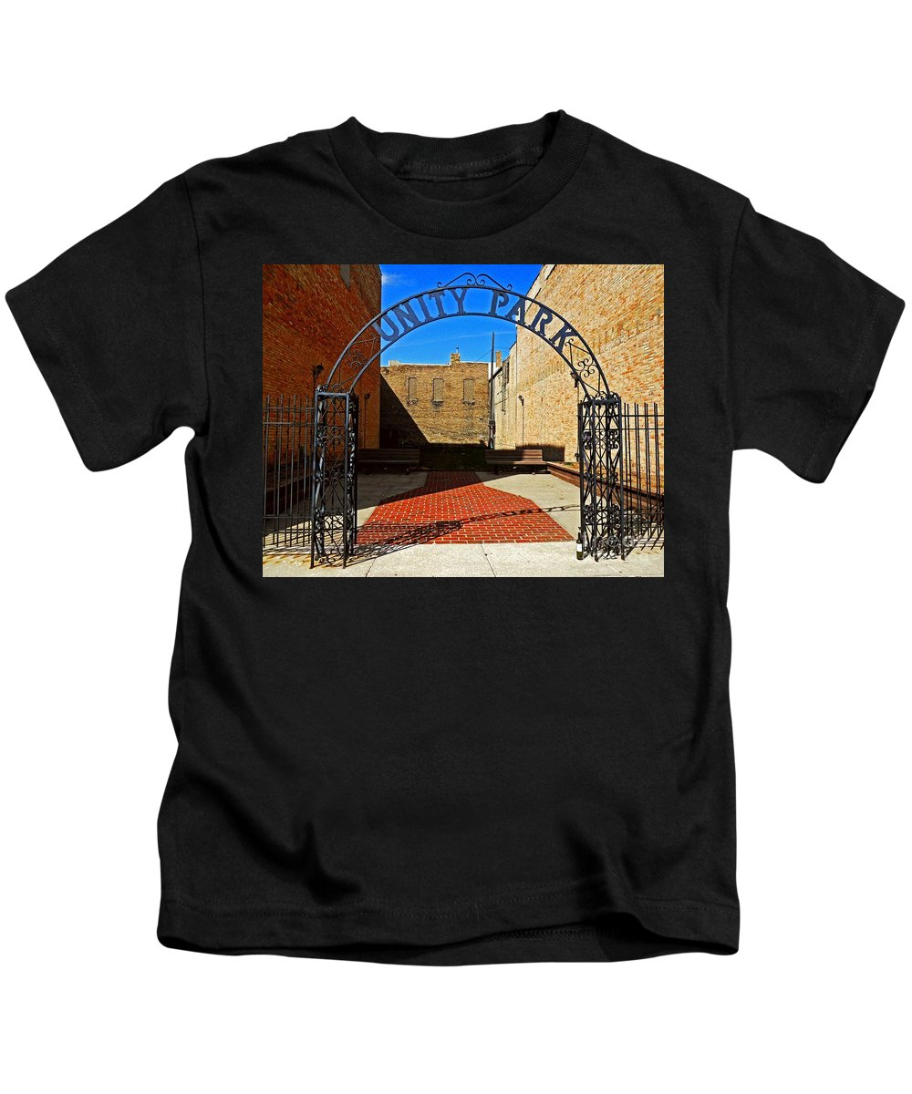 State Of The Union Kids T-Shirt featuring the photograph Unity In America Today by Desiree Paquette