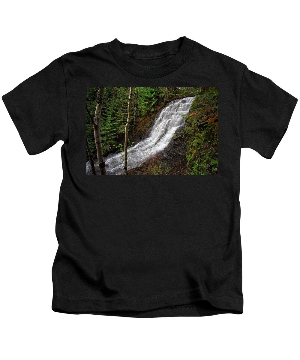 Bush Kids T-Shirt featuring the photograph Upper Little Falls by Jakub Sisak