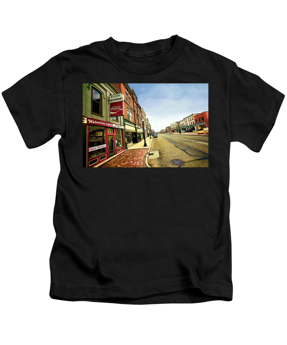 City Kids T-Shirt featuring the photograph Us 12 by Pat Cook