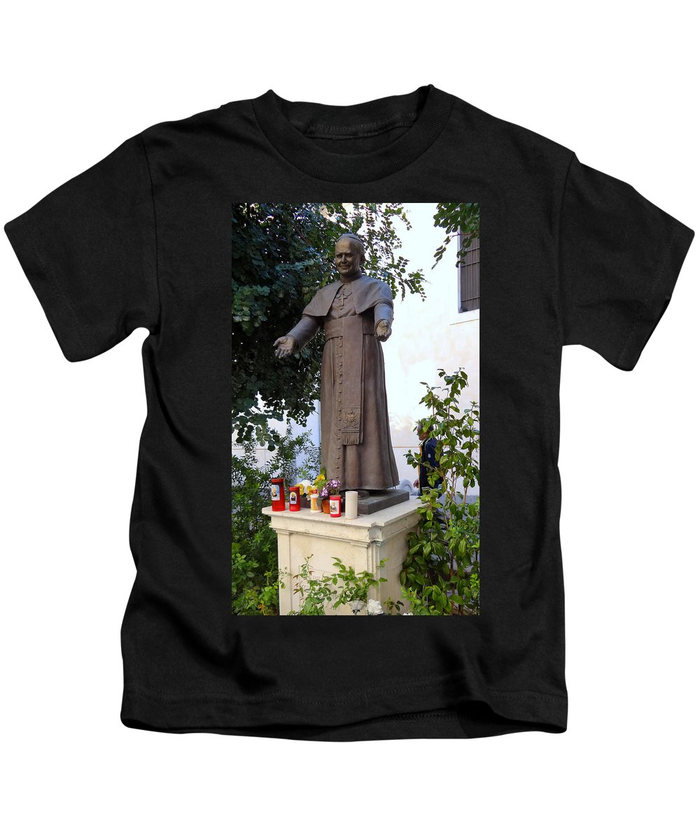 Mediterranean Kids T-Shirt featuring the photograph Views From Sorrento Italy by Richard Rosenshein