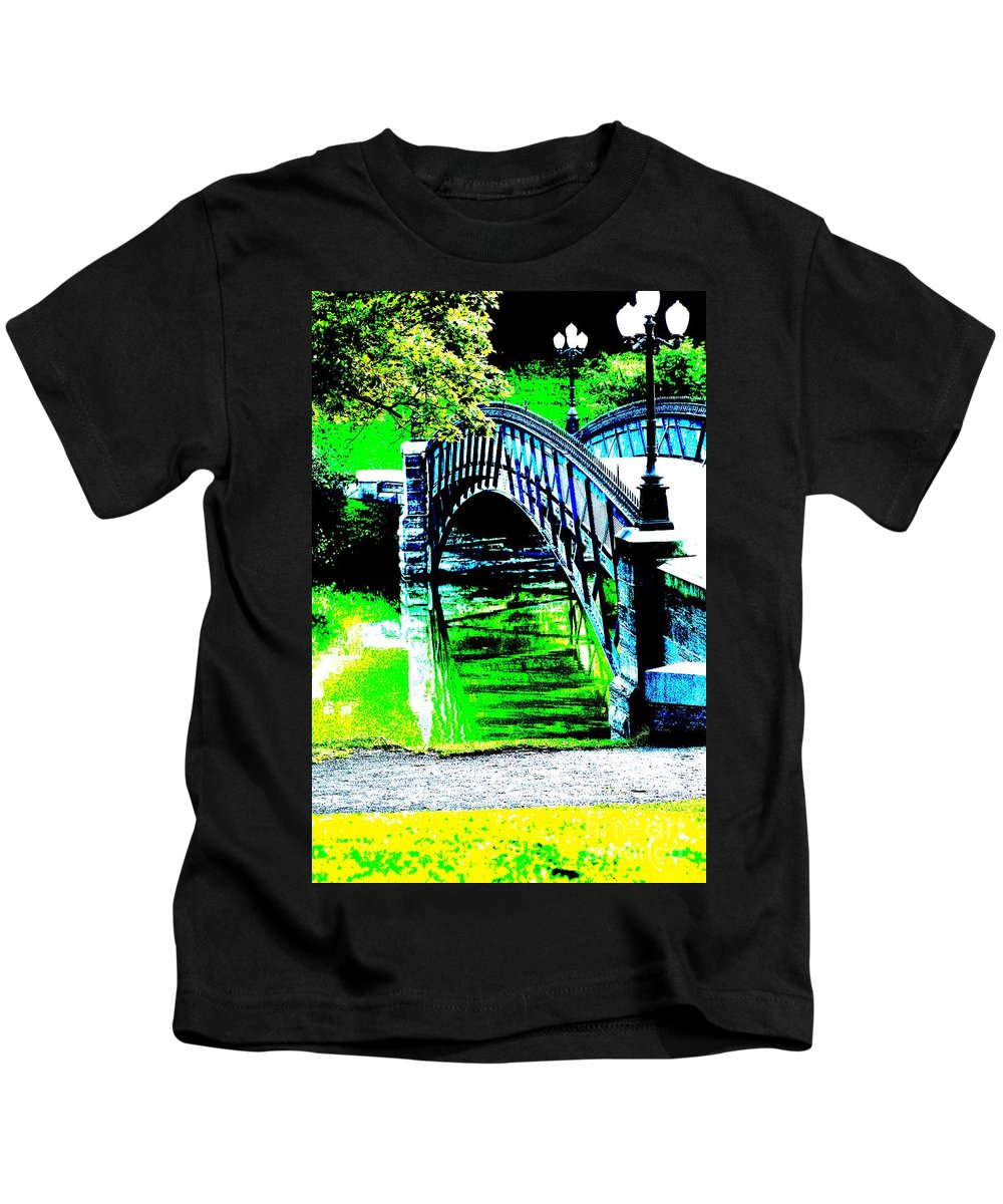 Parks Kids T-Shirt featuring the photograph Walk In The Park by Jeffery L Bowers