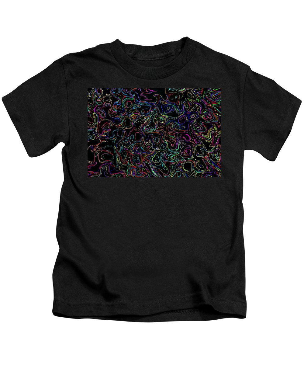 Neon Kids T-Shirt featuring the photograph Waltz In B Sharp 17 by Mark Blauhoefer