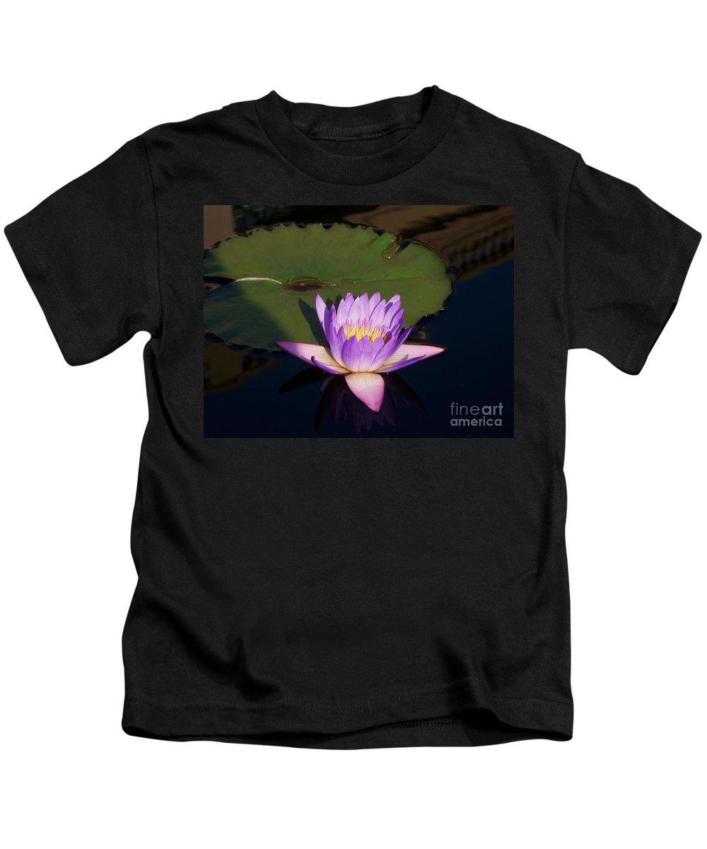 Photograph Kids T-Shirt featuring the photograph Water Lilies Monet by Eric Schiabor
