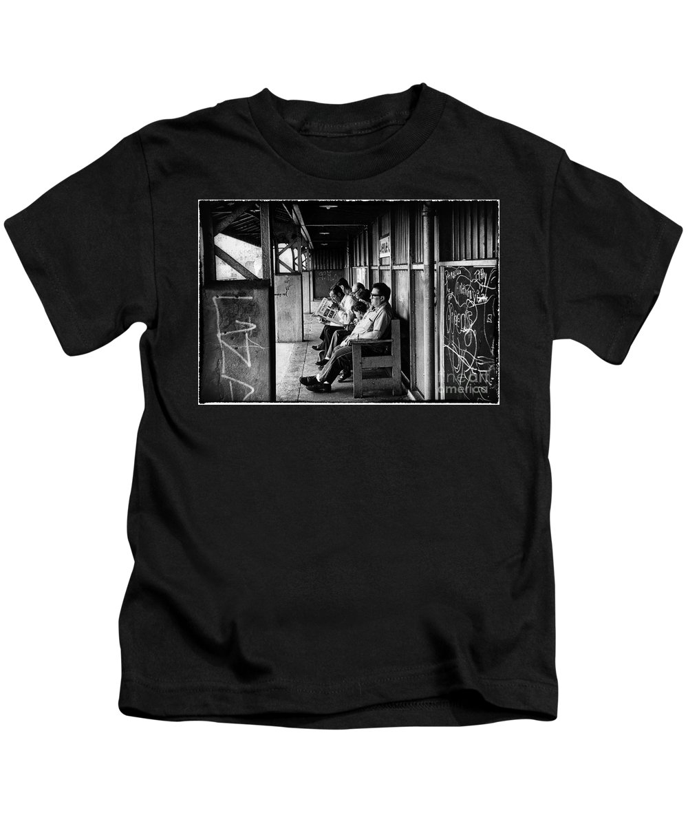 Nixon Kids T-Shirt featuring the photograph Watergate Memory by Madeline Ellis