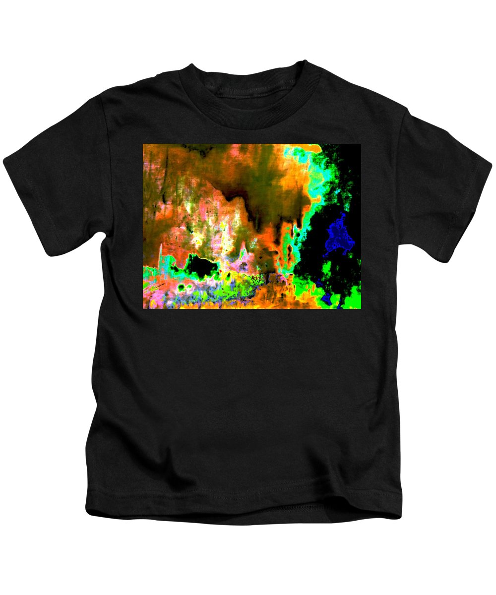 Genio Kids T-Shirt featuring the mixed media When Sexual Suppression Rebel by Genio GgXpress