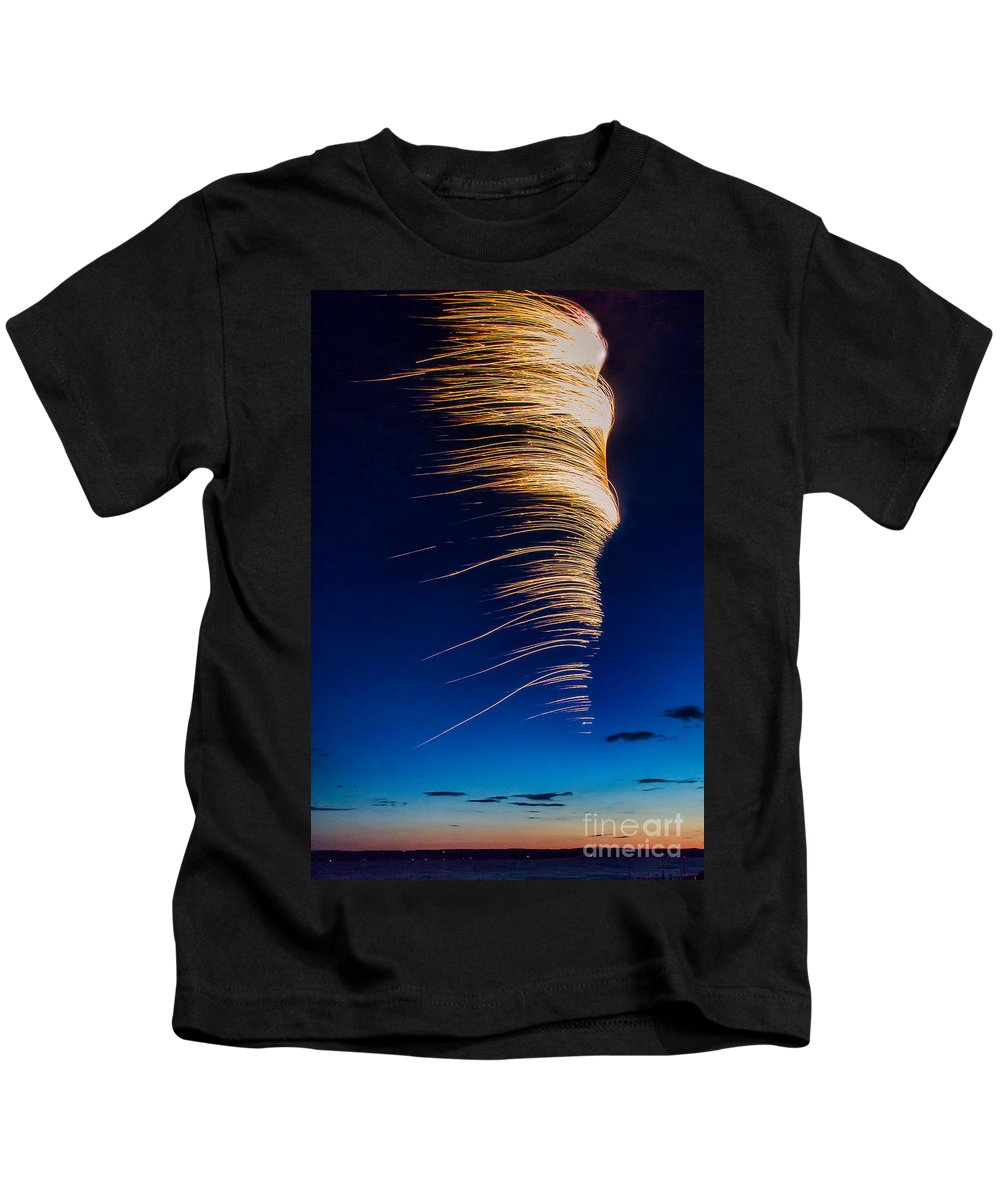 Michele Kids T-Shirt featuring the photograph Wind As Light by Michele Steffey