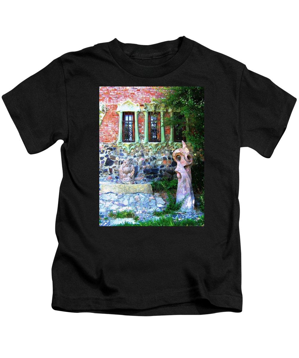 Window Kids T-Shirt featuring the photograph Windows by Oleg Zavarzin