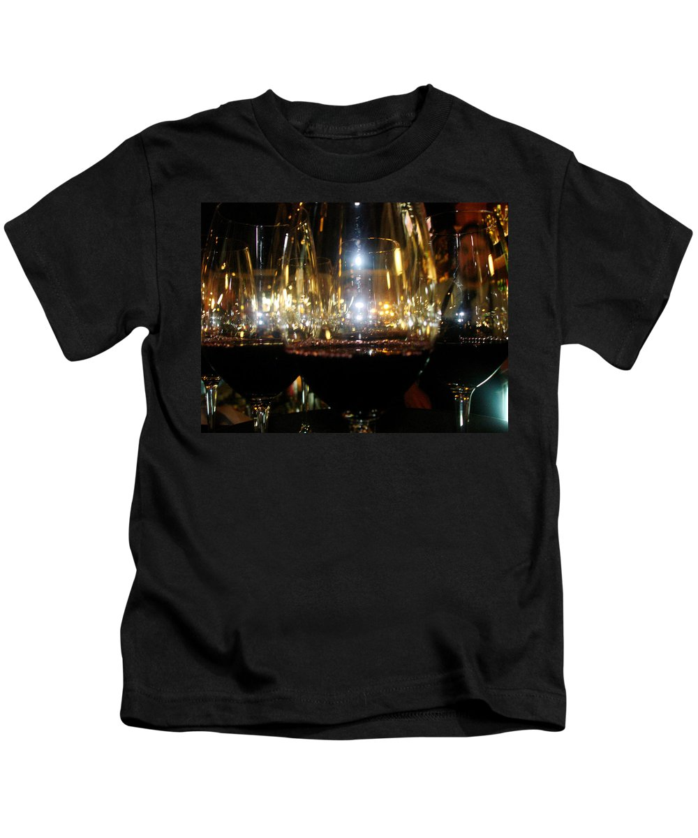 Kids T-Shirt featuring the photograph Wine by Sue Conwell