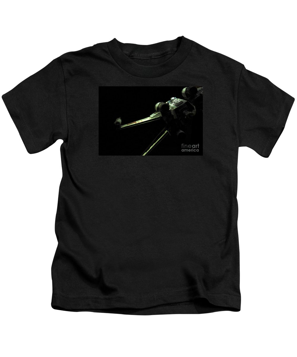X-wing Kids T-Shirt featuring the photograph X-wing Fighter by Micah May