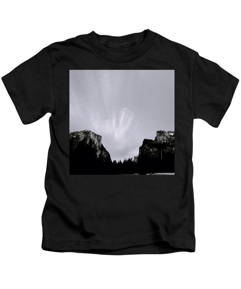 Yosemite Kids T-Shirt featuring the photograph Yosemite National Park by Shaun Higson