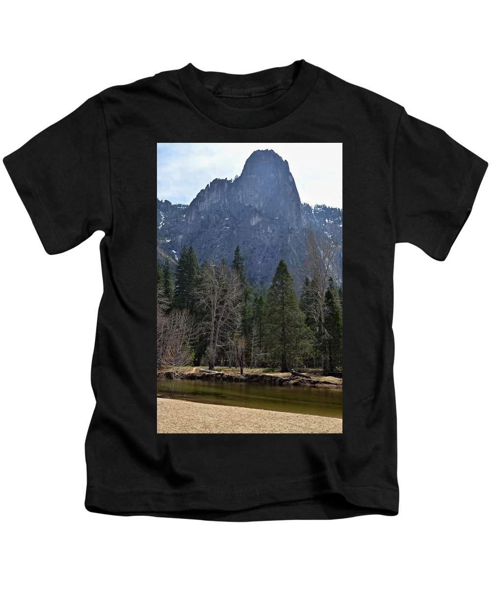 Yosemite Valley Kids T-Shirt featuring the photograph Yosemite Valley by See My Photos