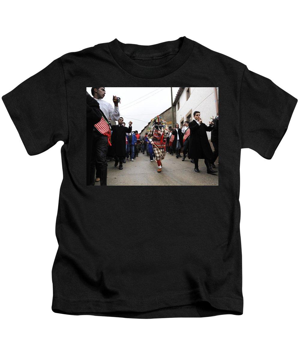 Spain Kids T-Shirt featuring the photograph Zangarron 2 by Rafa Rivas