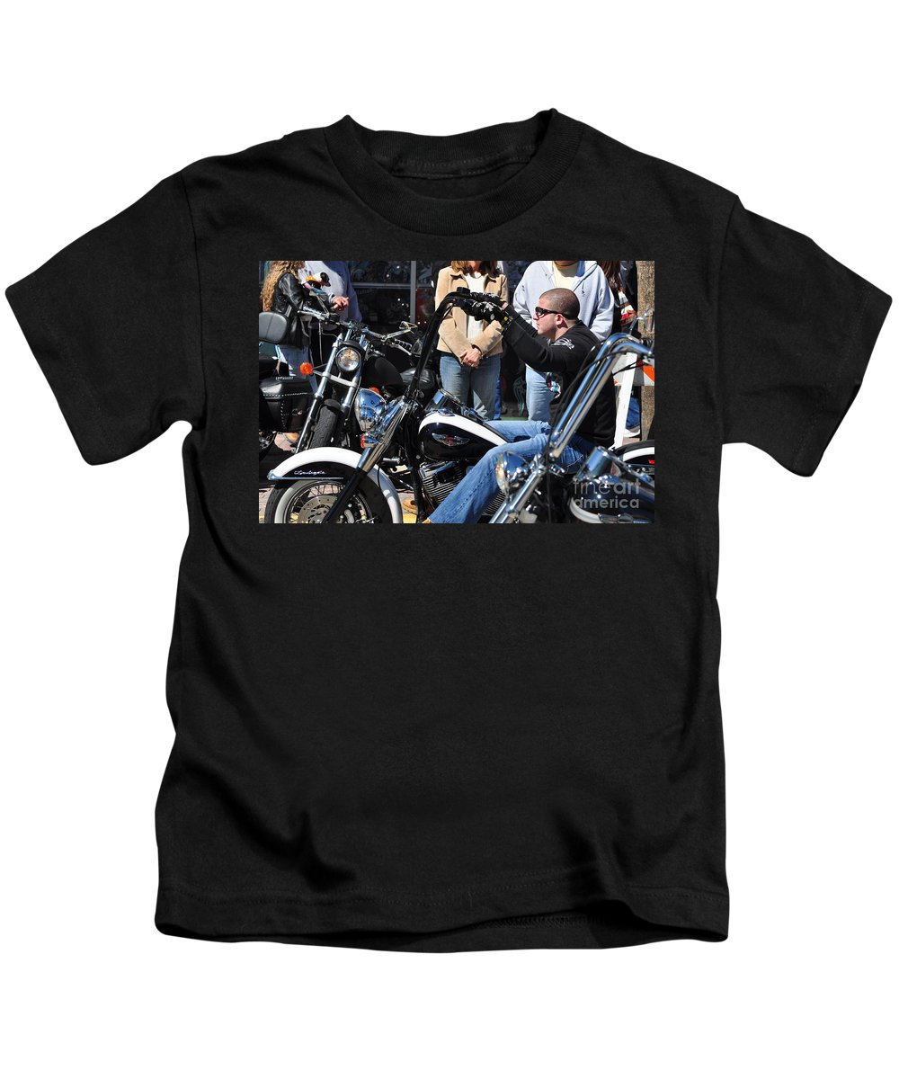 Men Kids T-Shirt featuring the photograph Zoom Zoom by Davids Digits