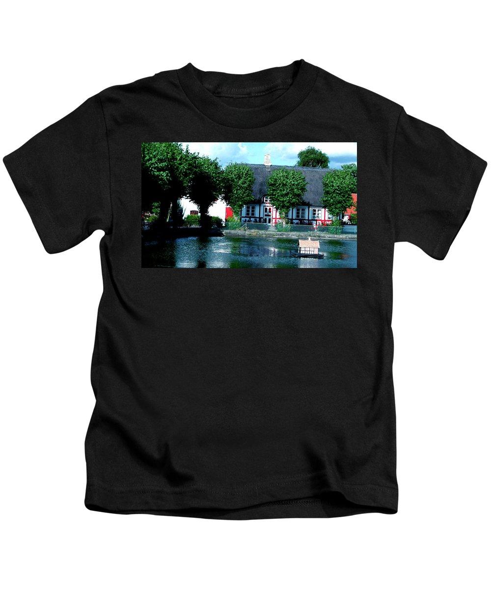 Colette Kids T-Shirt featuring the photograph Beauty On Samsoe Island Denmark  by Colette V Hera Guggenheim