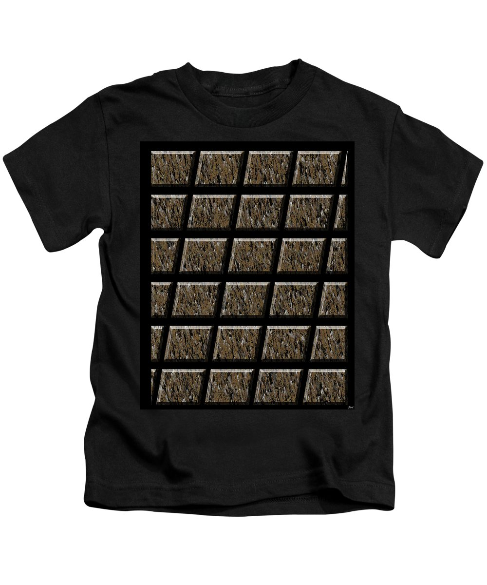 Abstract Kids T-Shirt featuring the digital art 0577 Abstract Thought by Chowdary V Arikatla